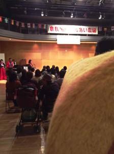 開会式にも出たーノ!